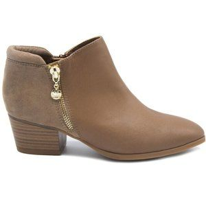 New Women's Casual Taupe Deanna Ankle Boots